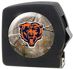 NFL Chicago Bears 25' RealTree Tape Measure