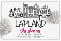 Lapland Christmas Toolkit by Zeppelin Graphics on @creativemarket