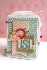Ideas: Mini Album con Argollas