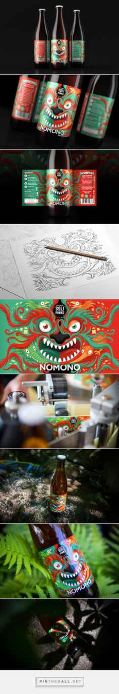 NOMONO #NewZealand Freestyle APA #beer #packaging designed by NOMONO​ - http://www.packagingoftheworld.com/2015/06/nomono-new-zealand-freestyle-apa.html