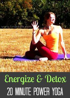 20 Minute Energizing Detox Power Yoga