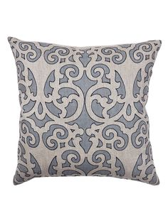 Ferah 22x22 Pillow - Slate Blue