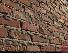 ArtStation - PBR Sloppy Brick Wall 02 Material Study, Joshua Lynch