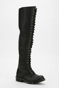 Jeffrey Campbell Meds Lace-Up Over-The-Knee Boot. Shadow hunter. Maybe a but extreme.