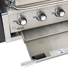 Broil King Regal Built-In Propane Gas Grill - Stainless Steel - 886714 Cal Flame, Propane Gas Grill, Stainless Steel Grill, Ignition System, Grilling, King, Natural, Crickets, Nature