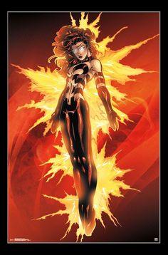 X-Men Dark Phoenix - Burst Poster Print - Item # - Posterazzi Phoenix Art, Dark Phoenix, Phoenix Rising, Perfect Dark, Dark Moon, Marvel Women, Arts And Entertainment, X Men, Sailor Moon