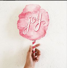 Joy in a Cotton Candy Cone!
