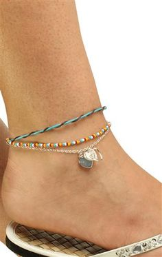 multi hearts #anklet $8.50