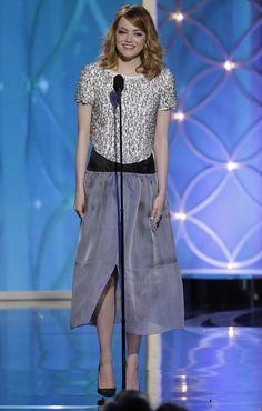 Emma Stone @ the 2014 Globes