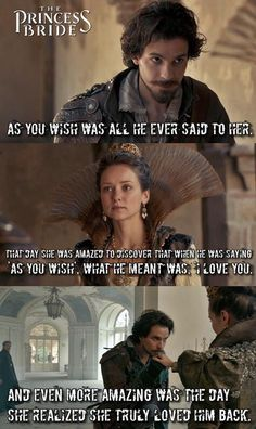 The Musketeers/The Princess Bride