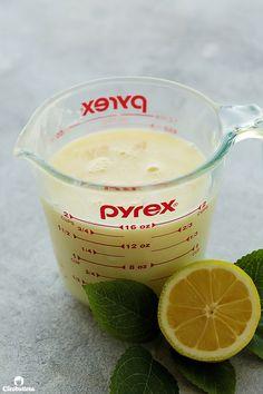 Luscious Lemon Posset | Cleobuttera Lemon Desserts, No Bake Desserts, Lemon Posset Recipe, Refreshing Desserts, Liquid Measuring Cup, 3 Ingredients, Low Carb, Treats, Baking