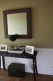 Benjamin Moore Baby Turtle for Accent Wall in Living room