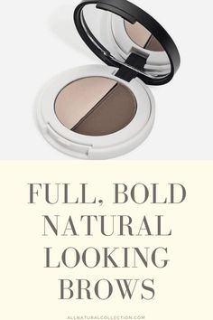 Available in 3 natural shades, this eyebrow duo from Lily Lolo delivers soft and full naturally defined brows. Use the pressed brow powder to fill in sparse areas and define brows and the brow wax to keep them in place.