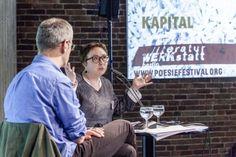 Poesiegespräch mit Eugene Ostashevsky und Elena Fanailova (c) Mike Schmidt