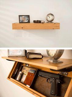 70 Cool Hidden Gun Storage Furniture Ideas 12 Diy Shelves