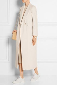 Cheap abrigos mujer, Buy Quality belted coat directly from China coat female Suppliers: 2017 Fall Winter Women Simple Cashmere Maxi Long design Robe Belted Coat Female Woolen Outerwear manteau femme abrigos mujer Fashion Mode, Modest Fashion, Hijab Fashion, Korean Fashion, Fashion Outfits, Womens Fashion, Mode Ootd, Mode Hijab, Mode Chanel