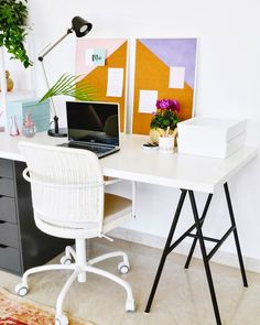 Spent the day brainstorming new ideas at my tidy workspace put together with @ikeauae ( the sale is still on by the way )