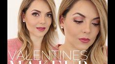 valentines makeup - YouTube