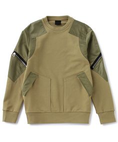 MA-1 FABRIC PATCHED SWEAT SHIRT|INNER|NONAGON(ノナゴン)|NONAGON JAPAN ONLINE STORE