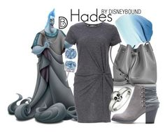 """""""Hades"""" by leslieakay ❤ liked on Polyvore featuring Spacecraft, Lancaster, Audrey 3+1, King Baby Studio, disney, disneybound and disneycharacter"""