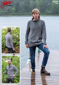 """""""Kangaroo"""" sweater for men."""