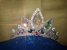 https://facebook.com/Theticketybootrunk #rapunzel #tangled #crown #tiara #cosplay #adult #diy  Visit my page for more info!