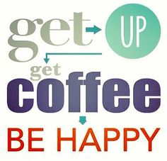 Life Quotes : Happy Coffee Quote - Quotes Sayings Happy Coffee, Coffee Talk, Coffee Is Life, I Love Coffee, Coffee Cups, Coffee Coffee, Coffee Lovers, Drinking Coffee, Coffee Break