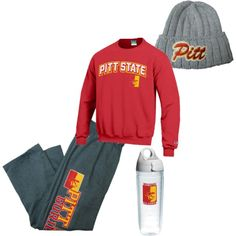 """""""cold day"""" by pittstategear on Polyvore"""