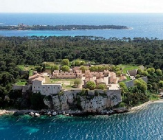 """Ile Sainte Marguerite - Cannes - Fortress (Fort Royal) - One of its famous prisoners was """"the man with the iron mask"""""""