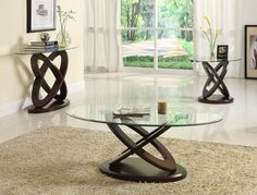 Shop Homelegance Firth II Coffee Table at Lowe's Canada. Find our selection of coffee tables at the lowest price guaranteed with price match. Small Glass Side Table, Glass End Tables, End Table Sets, Glass Table, Oval Coffee Tables, Glass Top Coffee Table, Coffe Table, Contemporary Side Tables, Contemporary Style