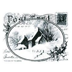 Kerststempel - kaart - stampendous