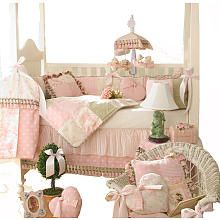 """Glenna Jean Isabella 4 Piece Crib Bedding Set at Babies """"R"""" Us: also awesome, but pricey"""