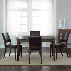 Hillsdale tiburon 5 pc dining table set jcpenney home for Dining room jcpenney