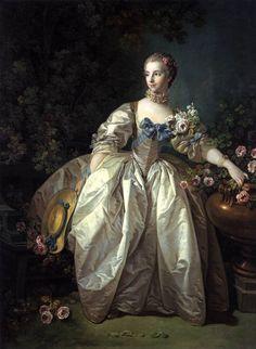 Madame Bergeret, François Boucher