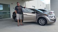 """""""Pierre was great. Very nice, polite, and thorough. He was able to tell us a lot about the car. This is my second car from Lakeland Automall and it's always a great job!"""" Thank you Robert Quinn! We are happy to hear you head such a nice experience! We hope you are enjoying your brand new 2015 Hyundai Elantra and please, if there's anything we can do, don't hesitate to ask.. We're here to help! #LakelandAutomall #LakelandHyundai #HyundaiElantra #2015Elantra #Elantra #Hyundai"""