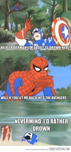 Spider-man, help me!