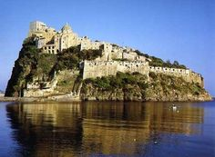 Ischia- My friend Ella is from here. I'd love to go to Italy with her!
