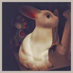 A Pipoca Mais Doce: candeeiro coelho