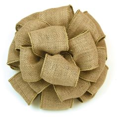 "2-1/2"" Wired Burlap Ribbon (25 yards) 
