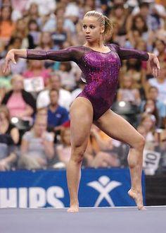 Gymnastics Floor Poses