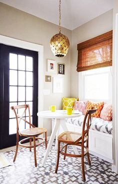 Kitchen breakfast nook - 9 Must-Haves for a California Eclectic Home