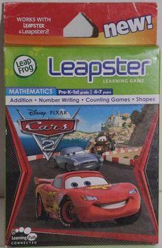 !! LEAPSTER LEAPFROG SPIEL Disney Pixar Cars GUT !!! Kindercomputer Lernspielzeug