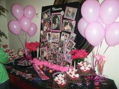 70th birthday party ideas for women