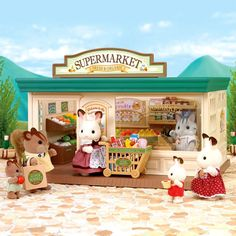 Calico Critters Supermarket by International Playthings - $69.95