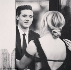 The look of love! Chloe Moretz shared a cute flashback picture to theNeighbors 2: Sorority Rising premiere last week, showing boyfriend Brooklyn Beckham gazing at her