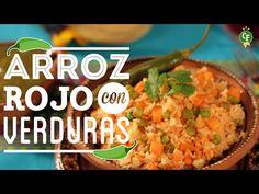 ¿Cómo preparar Arroz Rojo con Verduras? - Cocina Fresca