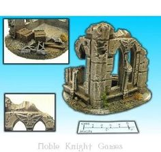 Other Miniatures and War Games 2537: Eslo Terrain House Ruin #4 Box Mint -> BUY IT NOW ONLY: $38.95 on eBay!