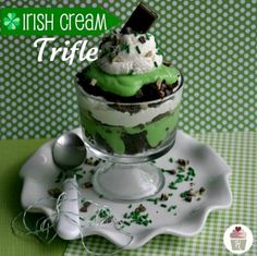Irish Cream Trifle :: Recipe on HoosierHomemade.com