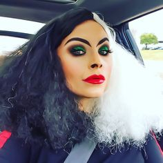 Cruella by Sarabelle18. Tag your pics with #Halloween and #SephoraSelfie on Sephora's Beauty Board for a chance to be featured!
