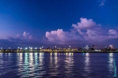 Pôr do sol na Baía do Guajará Belém - Pará Brasil. www.mauriciomoreno.com  #belem #para #pa #photography #nature #guajara #bay #light #sunset #dusk #twilight #cloud #sky #mmorenofoto #art